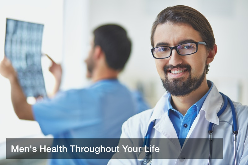 Men's Health Throughout Your Life