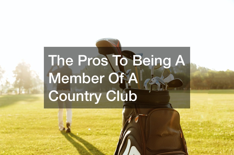 The Pros To Being A Member Of A Gold Club